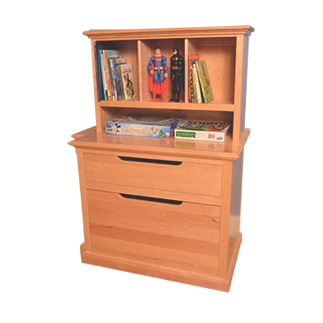 Bookcase Hutch for Toy Organizer